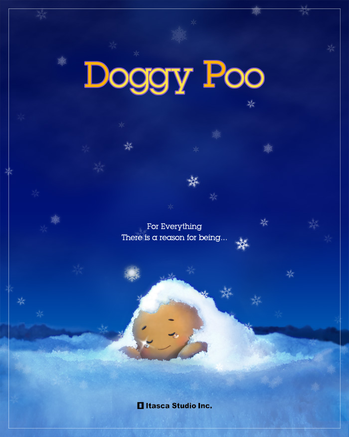 doggy poo poster